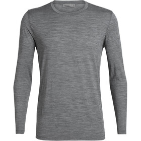 Icebreaker Tech Lite T-shirt manches longues Homme, gritstone heather